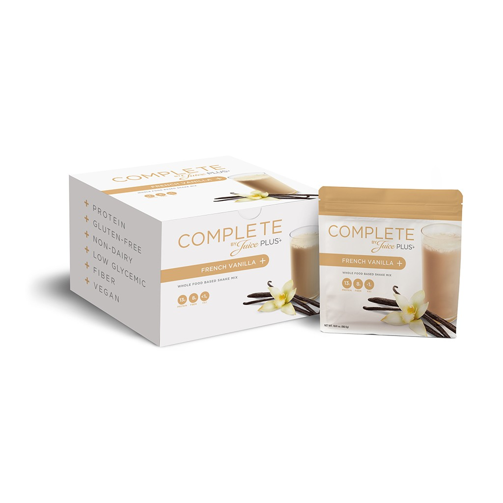 Complete By Juice Plus+ Drink Mix - French Vanilla