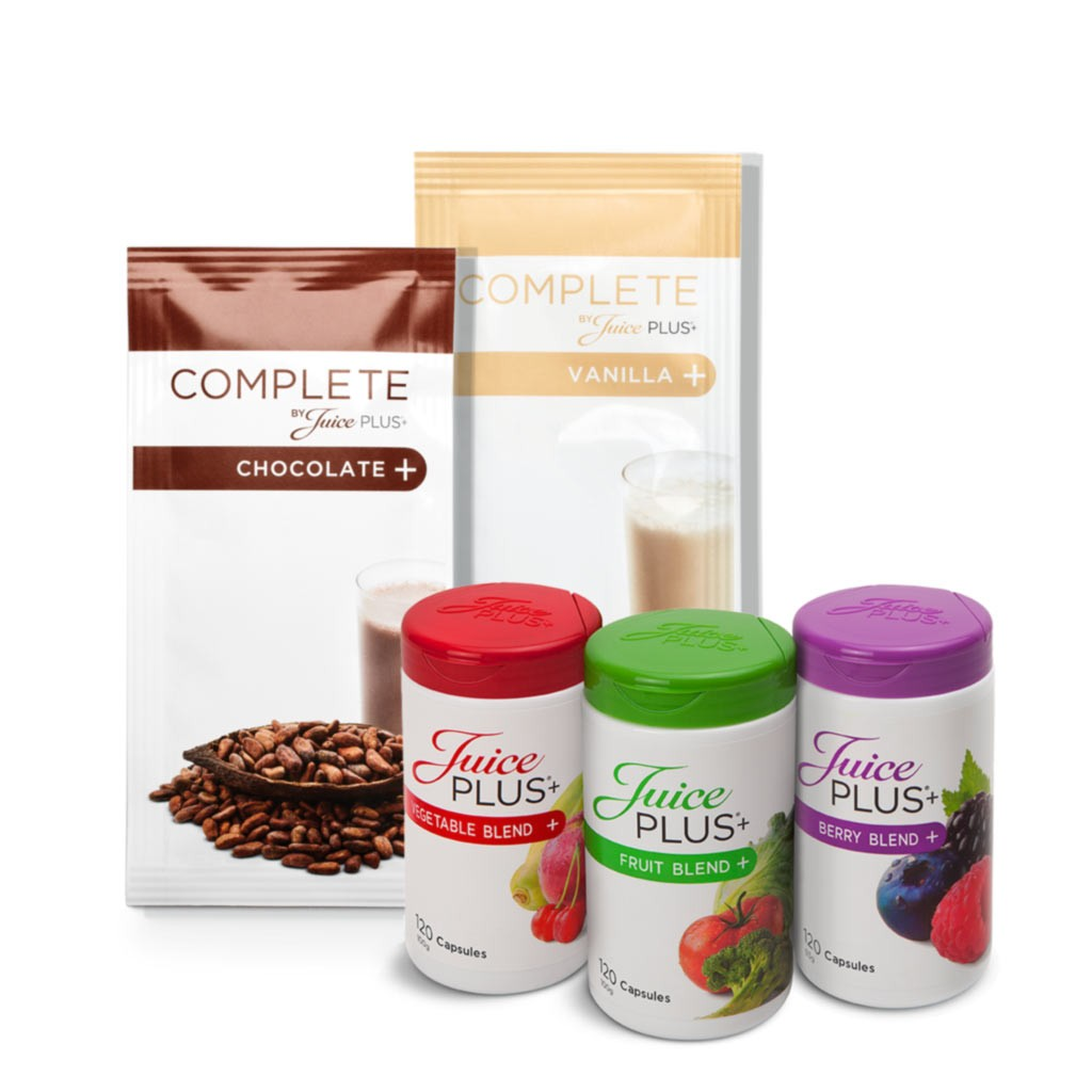 Mix Shake Box (15/15 Single sachets) & Juice Plus+ Premium Capsules (3x2 bottles) - SPECIAL OFFER