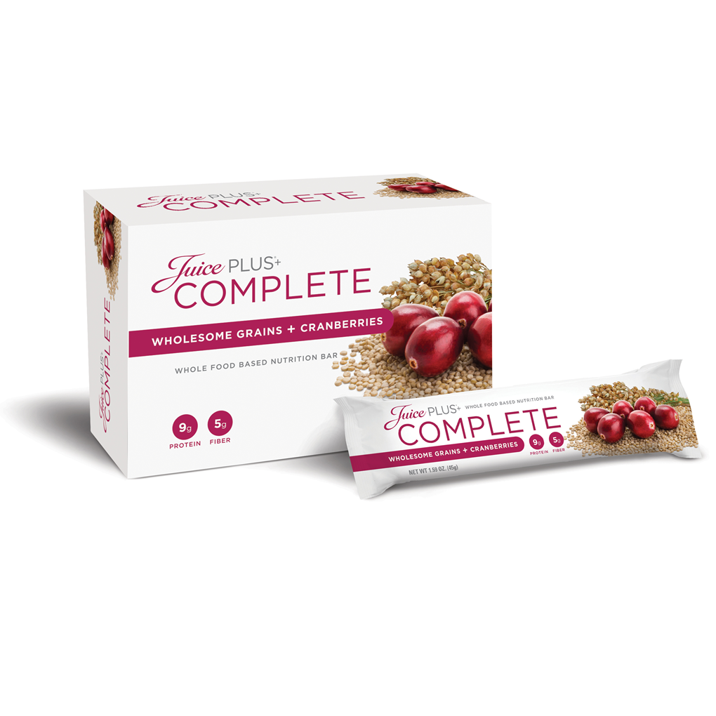 Wholesome Grains + Cranberries<br>Nutrition Bars</h3>