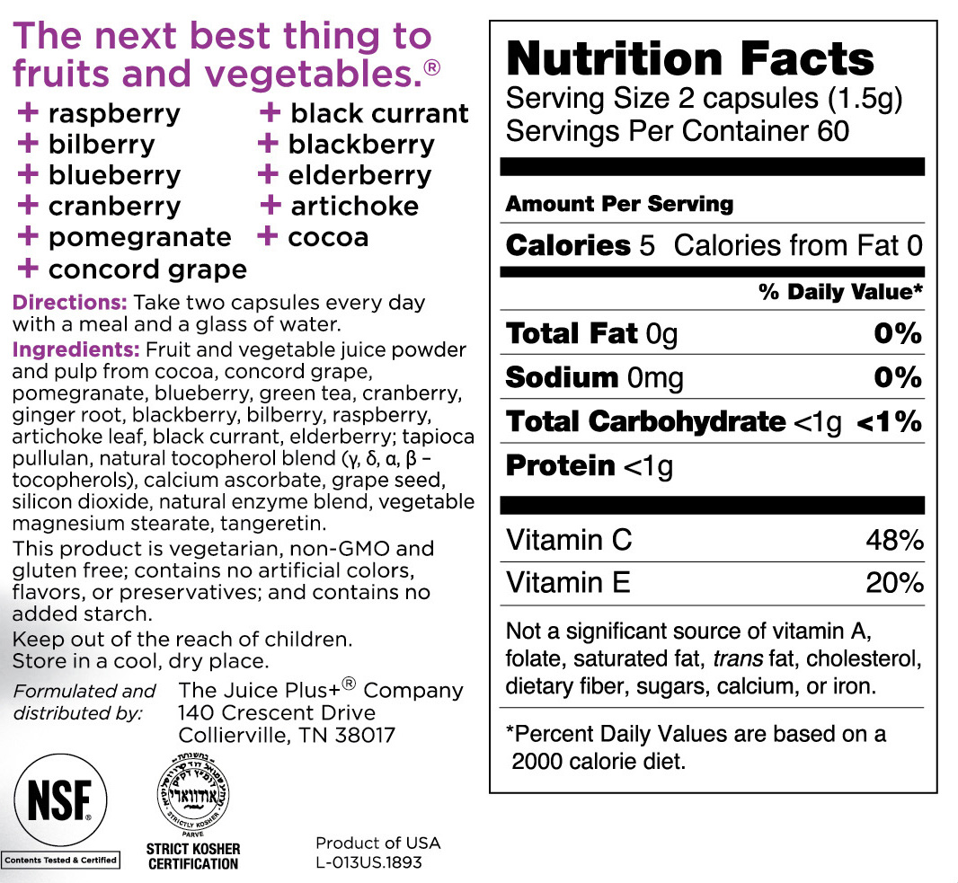 Whole Foods Juice Bar Nutritional Info