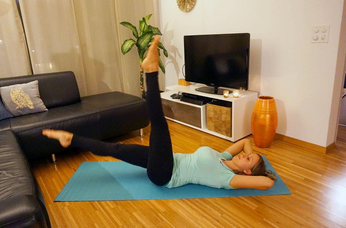 Fitness zu Hause 1 - So klappt\'s auch im Winter mit Sport