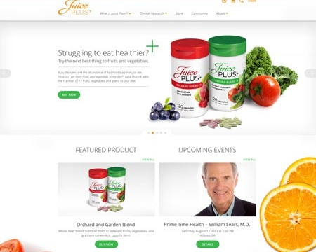Welcome to the new JuicePlus.com!