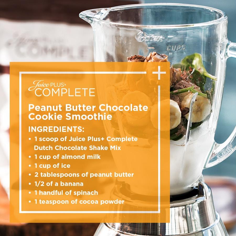 Juice Plus Chocolate Peanut Butter
