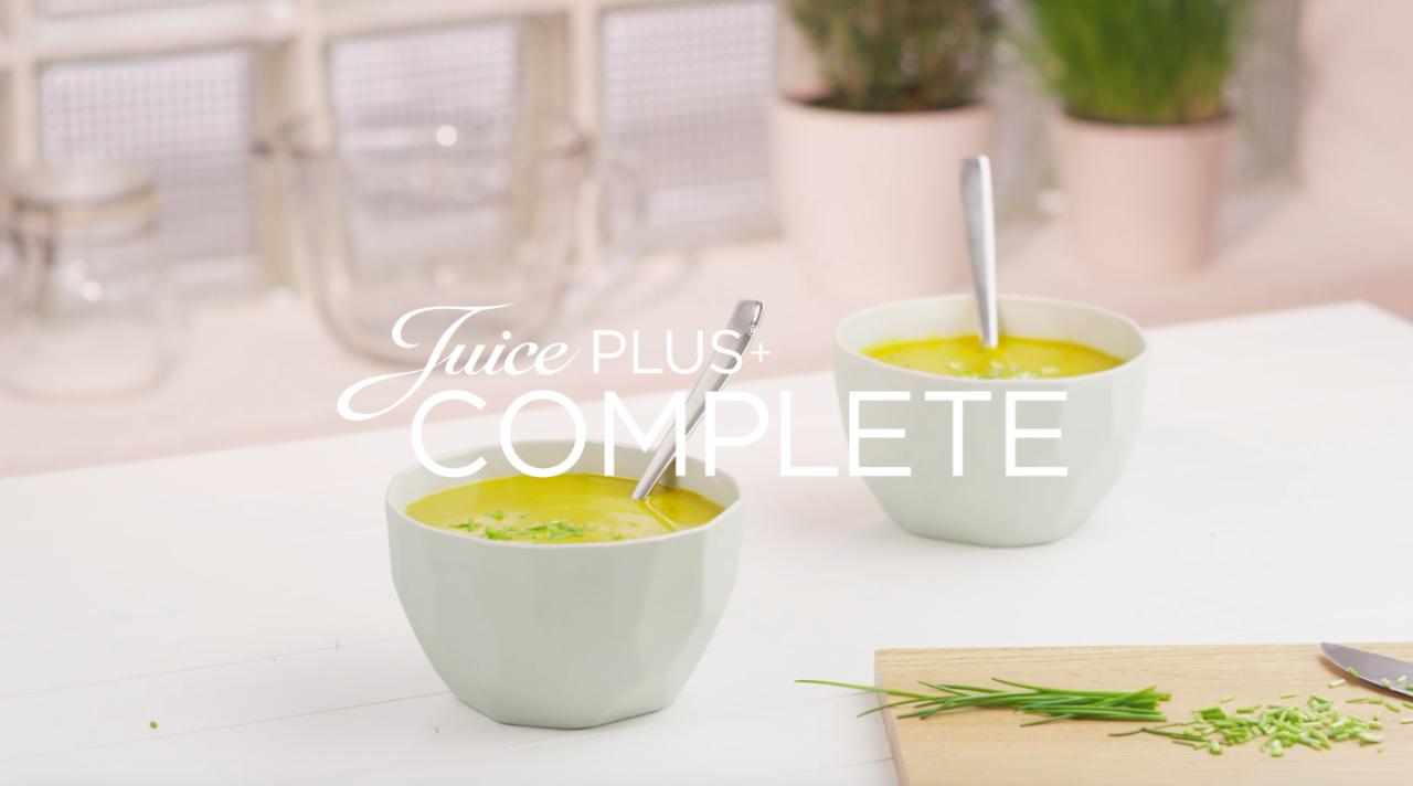 Estremamente Juice PLUS+ zuppa zucca e zenzero SQ41